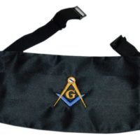 Mason Blue Lodge Cummerbund Home