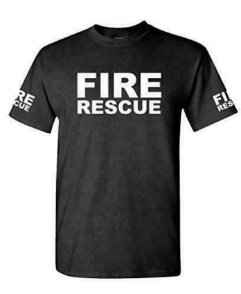 FIRE RESCUE – ems emt emergency service – Mens Cotton T-Shirt
