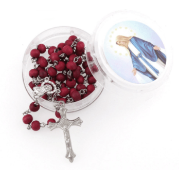 Our Lady of Grace Rose Scented Rosary Home